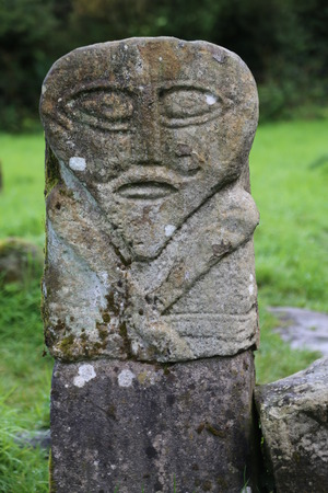 old stone figure