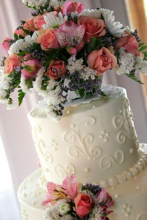 closeup of wedding cake Stock Photo - 263919