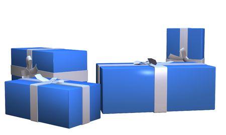geschenkkistje illustratie