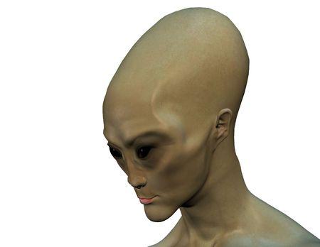 Renderizado 3D de un clásico extranjero (serie w / clipping máscara)