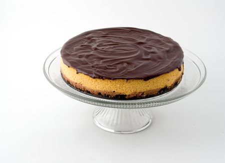 chocolaty: a delicious chocolate coated cake