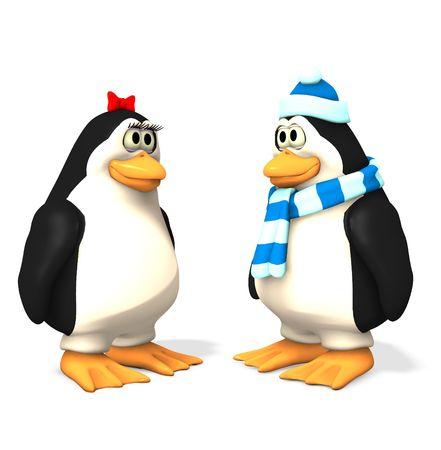 penguins cartoons
