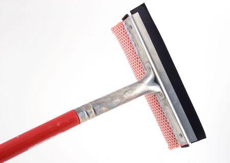 isolated window washing brush Stock Photo - 294980