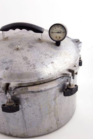 preperation: a pressure cooking pot