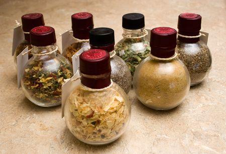perishable: spice jars