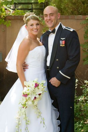 military wedding Stock Photo - 305217