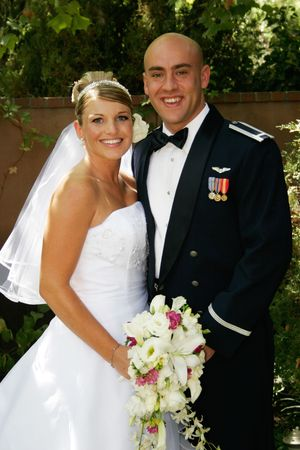 military wedding Stock Photo - 305216