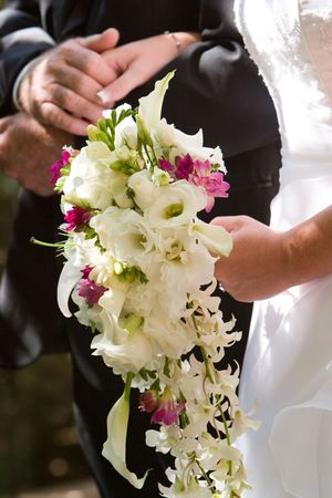 the bouquet of the wedding bride Stock Photo - 305223