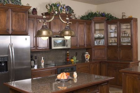 a modern kitchen photo