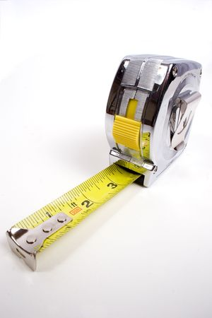 calc: a common construction or home tape measure