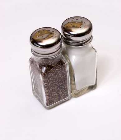 salt and peper shakers