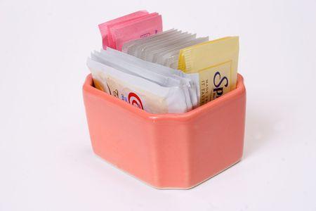 creamer, sugar and spices Stock Photo
