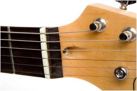 neck of guitar