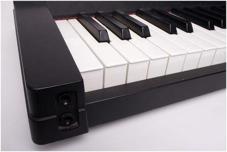closeup of keyboard keys