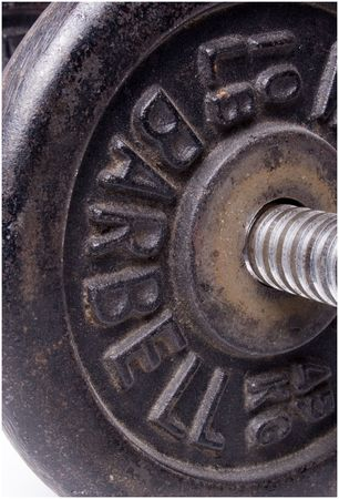 a barbell
