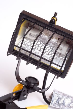 typical light for outdoor construction use