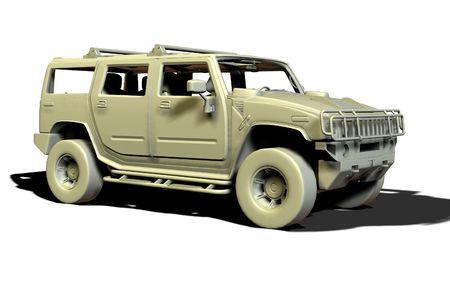 hummer: a luxury SUV vehicle