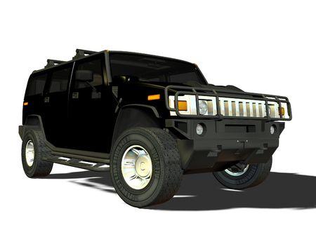 een luxe SUV voertuig