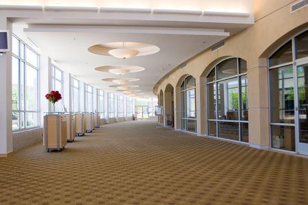 grote foyer in een kerk