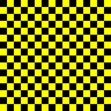 yellow and black checkerboard pattern, strong contrast 版權商用圖片