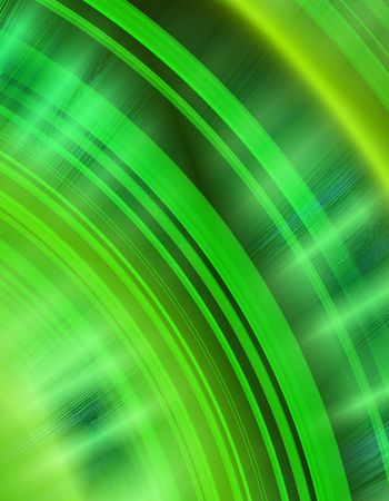 green arcs abstract background showing audio waves or noise Zdjęcie Seryjne