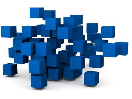 all in: grupo de los cubos todo en patr�n ca�tico