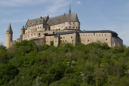 luxembourg: Vianden castle Luxembourg