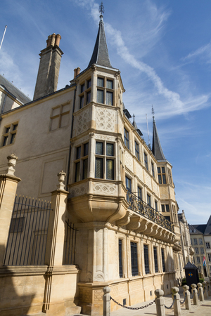 palais: Palais Grand-Ducal in the City of Luxembourg