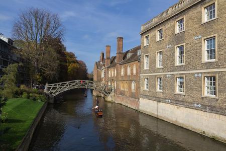 Mathematical Bridge, Queens College, Cambridge