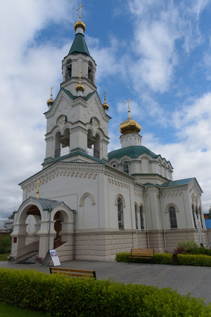 Panteleymonovskiy Khram G church in Votkinsk, Russia