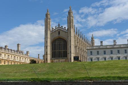 Kings College Chapel in Cambridge, UK