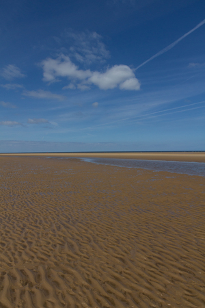 Ripples in sand at Wells-next-the-Sea, Norfolk
