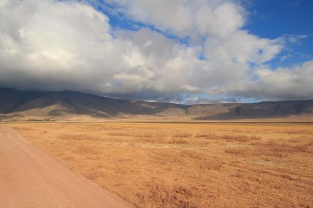 Ngorongoro Crater rim and vast area within