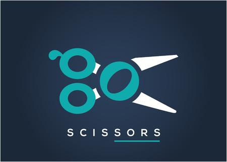 scissors logo icion