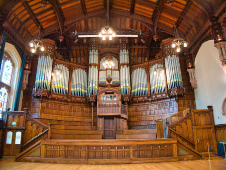 The Derry / Londonderry Guildhall Organ - built in 1914 and restored in 1978, the organ has over 3,132 pipes ranging from some 16ft long to others just pencil sized.