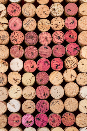 Wine corks in the shape of a glass of red wine Stock fotó - 36360526