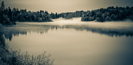 Mist Over The River