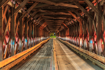 is covered: Covered Bridge