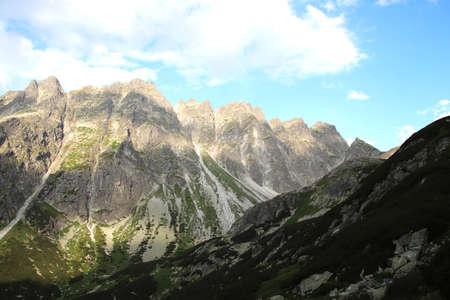 Slovak Tatras red trail to Rysy