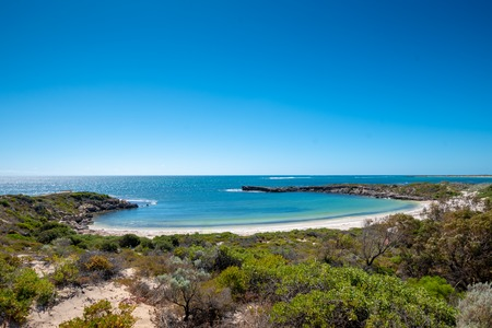 Storybook Dynamite Bay in Green Head in Western Australia Stockfoto