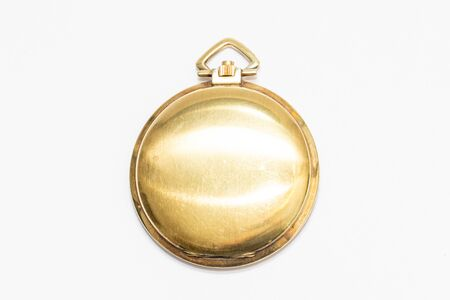 Golden small pocket watch Swiss made hand crafted, old and precious