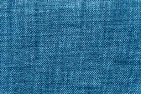 Bright blue mottled denim look fabric rough textile fabric