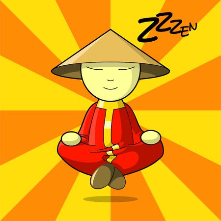 Maître Zen Vecteurs
