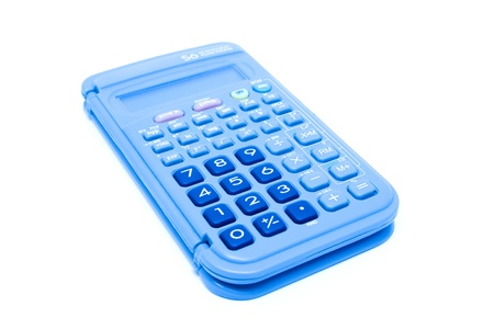 Calculator isolated Stock Photo - 12713571