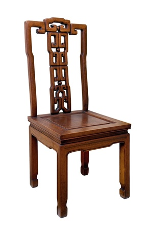 Chinese antique chair photo