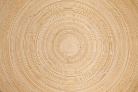 Wooden circles texture photo