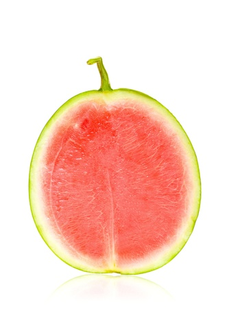Half watermelon isolated photo