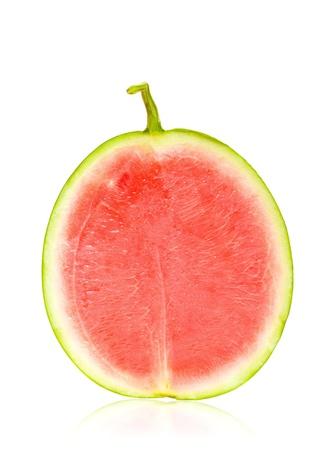 seedless: Half watermelon isolated