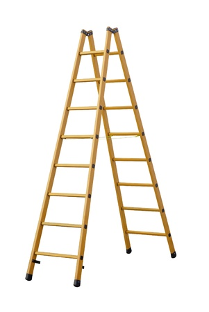 Stepladder   Clipping path