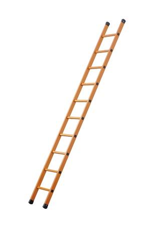subiendo escaleras: Escalera de trazado de recorte Foto de archivo